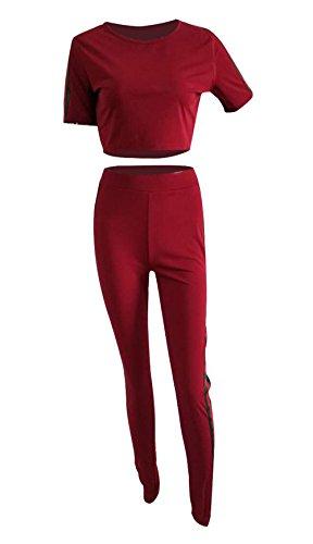 Sommer 2019 Sporting Zwei Stück Set Frauen Festival Kleidung Crop Top Und Biker Shorts Anzug Club Outfits Trainingsanzug Passenden Sets Perfekte Verarbeitung Anzüge & Sets