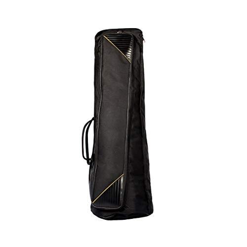 Preisvergleich Produktbild Durable Oxford Stoff Tenor Posaune Gig Bag Carry Bag Umhängetasche Musikinstrumentkoffer Zubehör - Schwarz