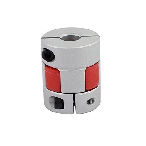 sourcingmap® 8mm zu 10mm Schaftpflaumenförmiger elastischer Kupplung 25mm Dmr 3cm Länge DE de