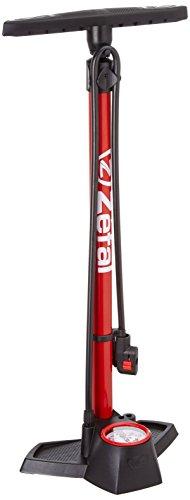 Zefal – Inflador de taller Zefal Profil Max FP30 c/manomet, negro y rojo