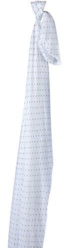 Piccalilly Bio-Baumwolle Kleine Stern Jungen oder Mädchen Musselin Pucktuch 120x120cm