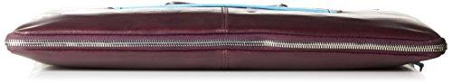 Piquadro Blue Square Aktentasche Leder 40 cm violet