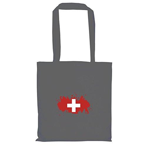 TEXLAB - Splash Schweiz - Stoffbeutel, (Pro Maskottchen Kostüme)