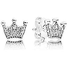 Pandora Women Silver Stud Earrings - 297127CZ