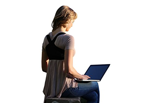 Kyphose Korsett, Rückenstütze, Kyphose Bandage für Männer und Frauen, unauffälliges Tragen möglich, extra leicht, spezielle Hilfe für geraden Rücken, auch beim Reiten, für Hobby und Beruf