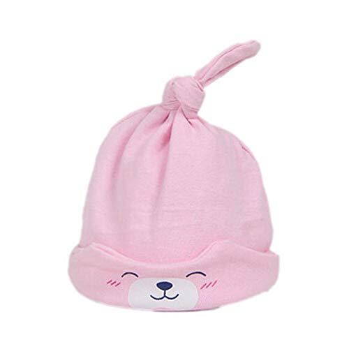 Neugeborene Baby Mädchen Jungen Mütze Geblümt Schleife Baumwolle Cap Hut Mützen