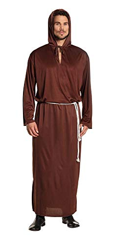 Boland Disfraz de Monje 83846-Adultos, Color marrón