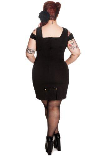 Ligne bunny 4281 robe robe bleu nuit Noir - Noir