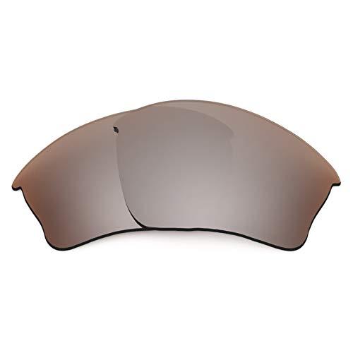 Revant Ersatzlinsen für Oakley Half Jacket XLJ Polarisierung Elite Flash Bronze MirrorShield®