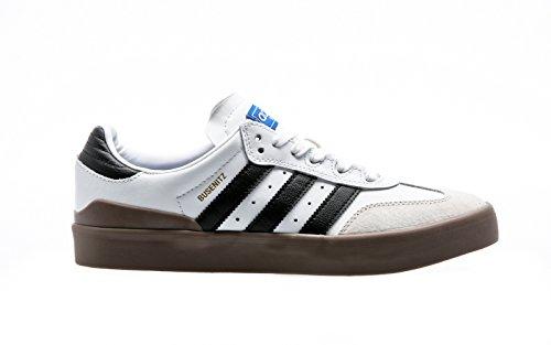 Adidas Skateboarding - Chaussures Skateshoes Homme Busenitz Vulc Samba  Edition - Ftwbla/cblack/blubir