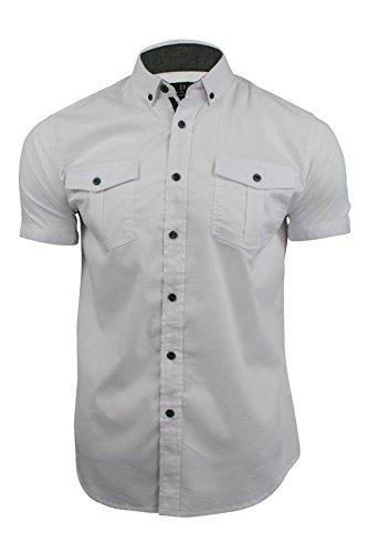 """Camicia da uomo a maniche corte da Smith & Jones """"Passanti White"""