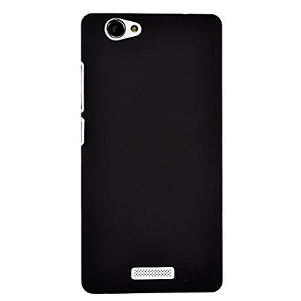 Hard Back Cover Case For Gionee 5.5-Black (KTS)  available at amazon for Rs.199