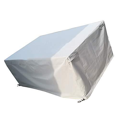 YANGJU-abdeckung gartenmöbel Draussen Möbel Oxford Tuch Wasserdichter Frostschutz Tisch Und Stuhl Staubschutz, 22 Größen Anpassbar (größe : A- 9-110x110x75cm)