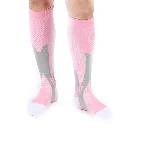 Augproveshak Männer/Frauen elastische Socken Kompression Kalb atmungsaktiv Schweiß Feuchtigkeit Absorption Sport Socken