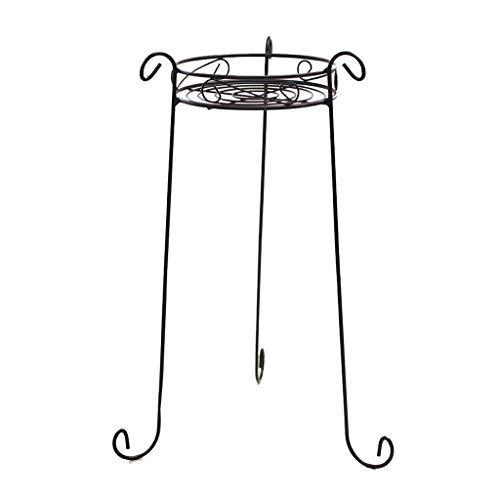 Metall Topfpflanze Stand, 26 Zoll Höhe rostfrei dekorative Blumentopf Rack mit Indoor Outdoor Iron Art Pflanzer Inhaber Garten unterstützt Ecke Display Stand (Ecke Outdoor-pflanzer)