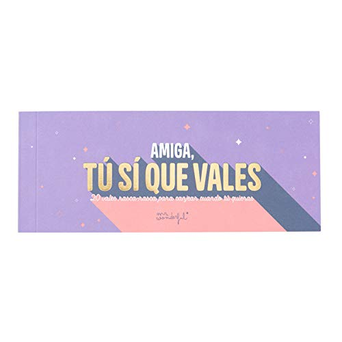 Mr. Wonderful rascar-Amiga, tu sí Que vales, Única
