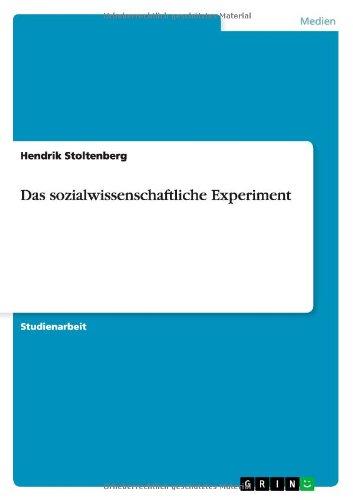 Das sozialwissenschaftliche Experiment