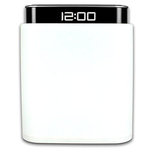 TW24 Wecker - Nachttischlampe - Lampe - Uhr - Nachtlicht - Leuchte mit LCD Wecker -