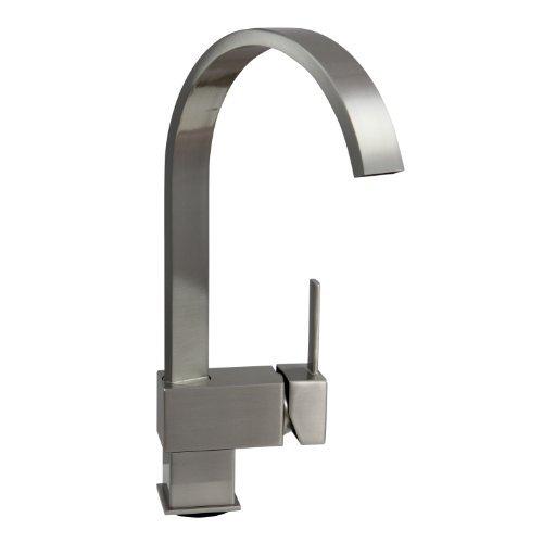 Dyconn Hudson FL003-A8BN 12-1/2-Inch Contemporary Modern Bath, Vanity, Bar Faucet (Brushed Nickel) by Dyconn - Moderne Nickel Bath Bar