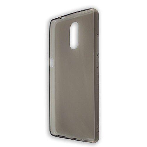 caseroxx TPU-Hülle für Bluboo Maya Max, Tasche (TPU-Hülle in schwarz-transparent)