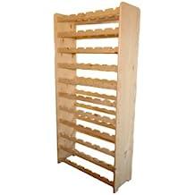Vino rack estante de madera Estantería botellero para 77 botellas rw-3 – 77 –