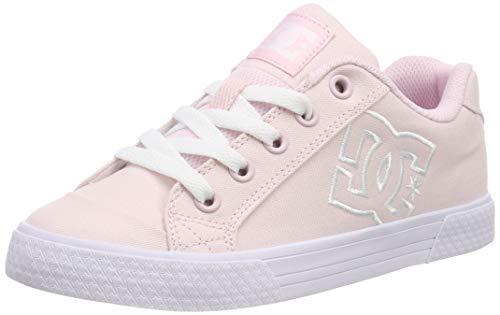 DC Shoes Chelsea TX, Zapatillas de Skateboard para Mujer, Rosa (Pink Pnk), 39 EU
