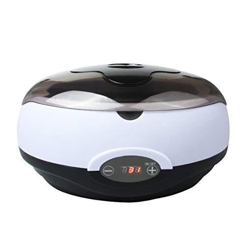 Calentador de cera con pantalla digital Mini SPA Depiladora de manos Pies Parafina Cera Máquina Cuerpo...