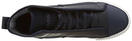 G-STAR RAW Herren Scuba Mix Sneaker Blau (dark navy 881)