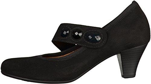 Gabor35.481.17 - Scarpe con Tacco Donna Nero (nero)