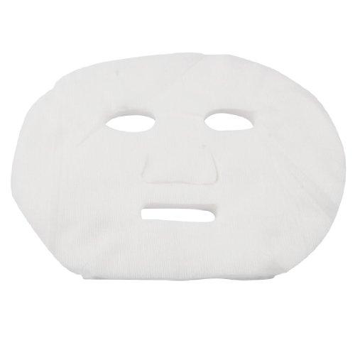 sourcingmap® 40 Pcs Blanc Cosmétiques Agrandi Coton Masques Feuilles pour les dames