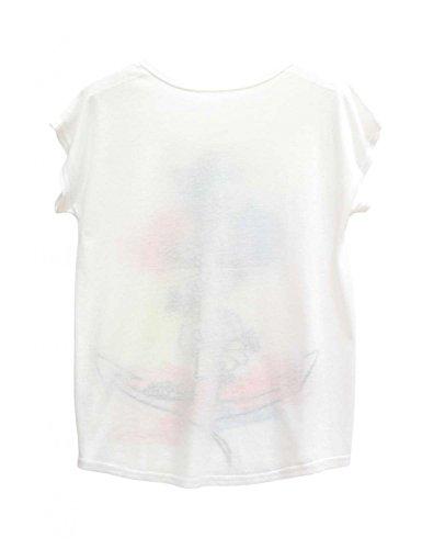 Ma Coquette Damen T-Shirt Weiß - weiß
