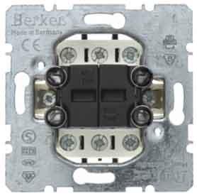 Berker - 303808 doble conmutador Ref. 6510000018