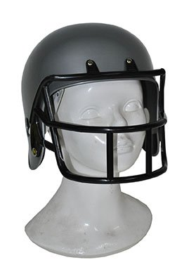 Funny Fashion American Football-Helm grau - Erwachsene