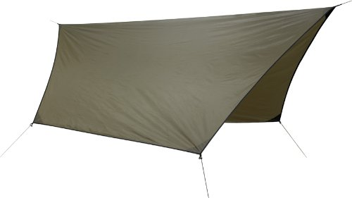 Hennessy Hex Rainfly 70D Polyester for Hammock Coyote Brown (Hängematte Rainfly)