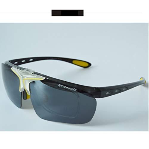 Retro Vintage Sonnenbrille, für Frauen und Männer Polarisierte Sonnenbrille zum Fahren Angeln Golf Metall Brille UV400 superleichten Rahmen (Farbe : 01)