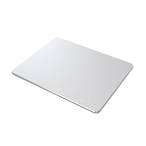 Satechi Aluminium Mauspad mit Anti-Rutsch Haftung (Silber)