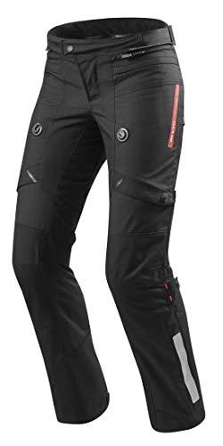 FPT082 - 0012-L42 - Rev It Horizon 2 Ladies Motorcycle Trousers 42 Black Short (UK 14)
