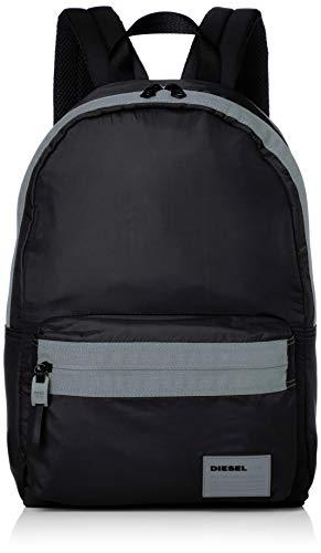 Diesel Herren Rucksack MIRANO, Schwarz (Black), 15x44x30 centimeters (W x H x L) (Mann Diesel Tasche)