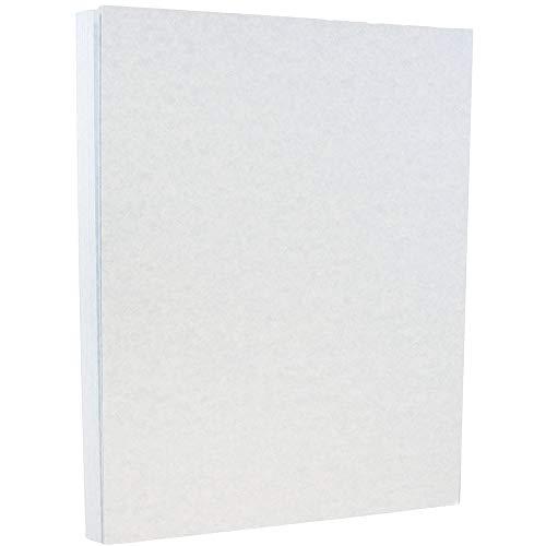 JAM PAPER Papel Pergamino - 215,9 x 279,4 mm - 90gsm - Azul Reciclado - 100 Hojas/Paquete