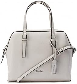 Calvin Klein - Bolso al hombro para mujer blanco Weiß One size