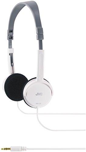 JVC HA-L50W, Cuffie Leggere, 18-22000 Hz, 3 cm, 1,5 m, Bianco
