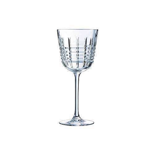 Coffret 6 verres à eau ' Rendez-Vous ', Cristal d'Arques
