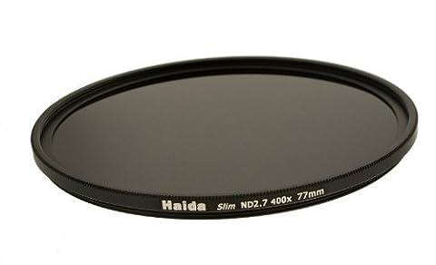 Haida slim Filtre gris nd2.7(400x) spécial pour FujiFilm x10x20/x30modèles–Version mince + Lens Cap avec poignée intérieure