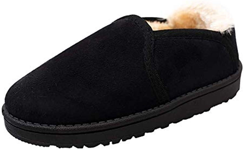 Oudan Mocassini da Uomo Uomo Uomo di SAHNGXIAN Pantofole da Scarpe in Pelle di Montone Australiano (Coloreee   Nero, Dimensione... | Materiali selezionati  292b1b