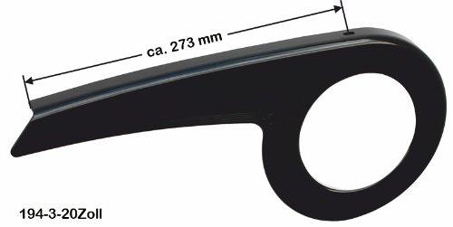 Kettenschutz Easy Line 194-3 gekürzt für 20 Zoll * schwarz