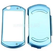 Alcoa Prime Aluminum W/ Flannel Metal Protective Hard Case Skin Cover For Sony PSP GO Blue