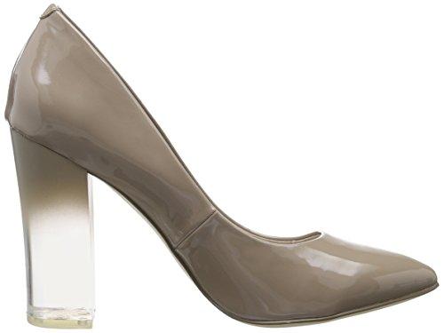 Bianco Damen Clear Heel Pump 35-49287 Pumps Beige (nougat)