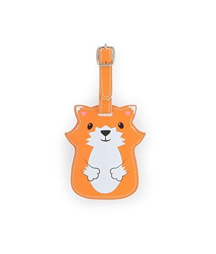 Kikkerland Koffer Taschenanhänger Gepäckanhänger, Orange
