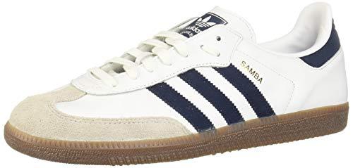 adidas Herren Samba Og Derbys Mehrfarbig (White Ftwwht/Conavy/Crywht) 44 EU
