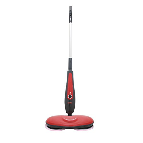 Moneual meister ame-7000 - mops (laminate, tiles, wood, black, red, silver)